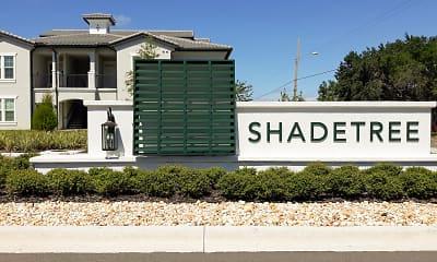 Community Signage, Shadetree Apartments, 2