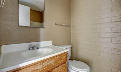 Bathroom, The Axis., 2