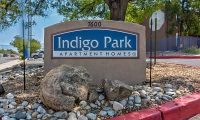Community Signage, Indigo Park, 2