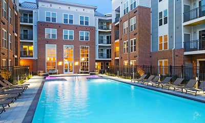 Pool, Flats170 At Academy Yard, 1