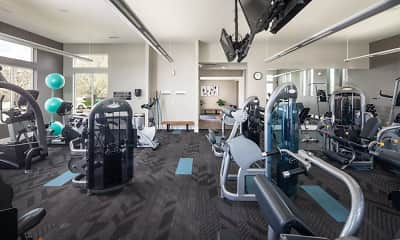 Fitness Weight Room, River Park by Broadmoor, 2
