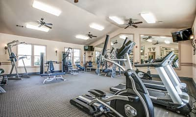 Fitness Weight Room, Villa Faria, 2