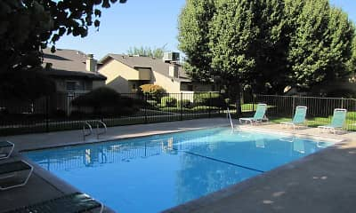 Pool, Maple Leaf Apartments, 0