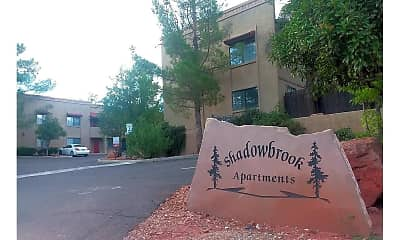 Community Signage, Shadowbrook Apartments, 0