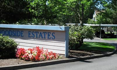 Community Signage, Woodside Estates, 0