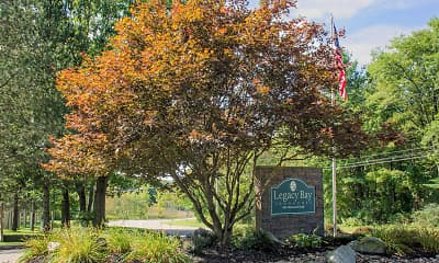 Community Signage, Legacy Bay Townhomes, 2