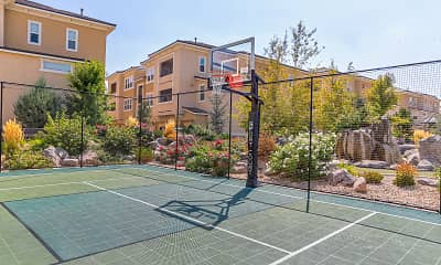 Basketball Court, The Alexander At South Virginia, 2