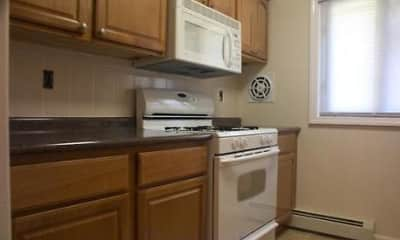 Kitchen, Yorkshire Apartments, 2