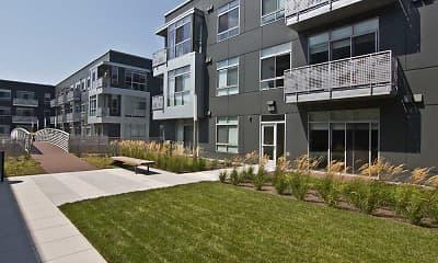 Building, DuCharme Place Apartments, 1