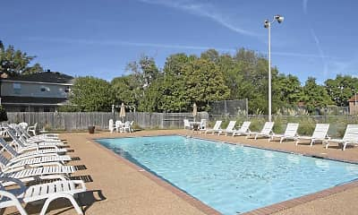 Pool, Northtown Apartments, 0