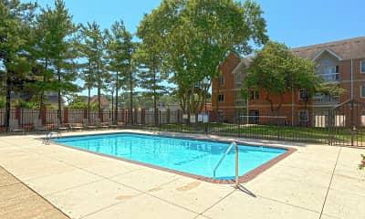 Pool, Old Main Apartments, 0