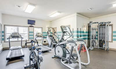 Fitness Weight Room, Middletown Ridge, 1