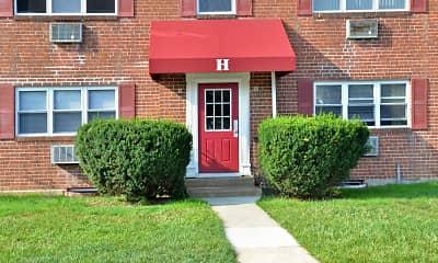 Building, Penn Weldy Apartments, 1