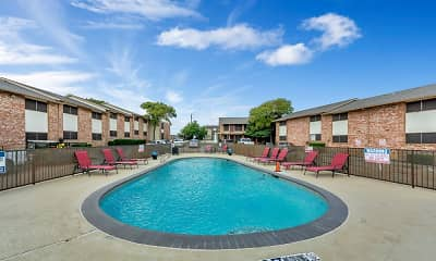 Pool, Mustang Villas, 1