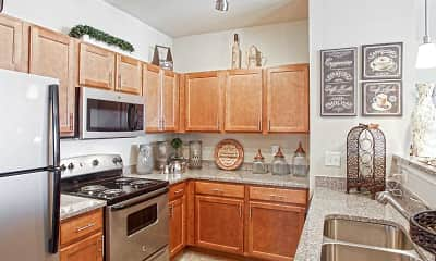 Kitchen, The Reserve at Smith Crossing, 2