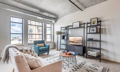 Living Room, Heritage Landing, 0