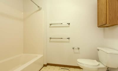 Bathroom, Orchard Street Townhomes, 2