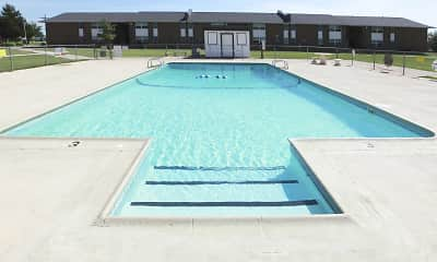 Pool, Bellaire Apartments, 0