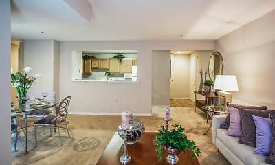Living Room, Country Meadows Apartments, 0