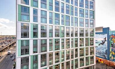 Building, Troy Boston, 1