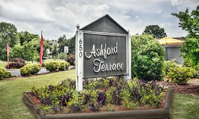 Community Signage, Ashford Terrace, 1