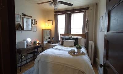 Bedroom, Saxony Apartments, 1
