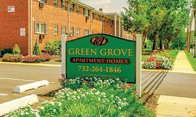 Community Signage, Green Grove Apartments, 0
