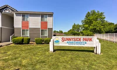 Community Signage, Sunnyside Park Apartments, 2
