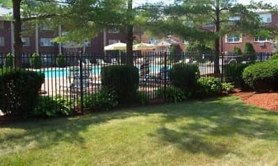 Pool, Francis Crossing Apartment Homes, 1
