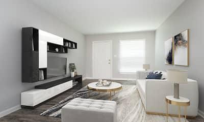 Living Room, Bradford Commons, 1