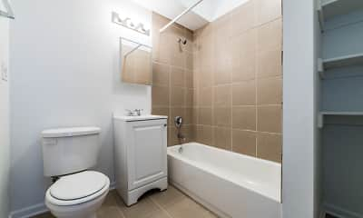 Bathroom, 5749 W Chicago, 2