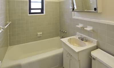 Bathroom, Loudon Arms Apartments, 2