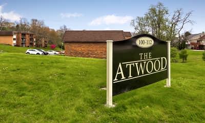 Community Signage, The Atwood, 2