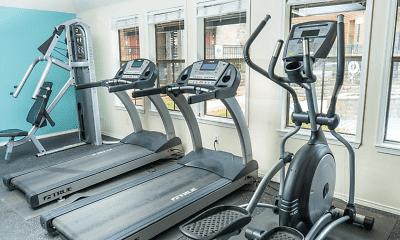 Fitness Weight Room, Tides on Overton Ridge, 2