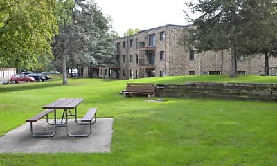 Recreation Area, Village Apartments, 2