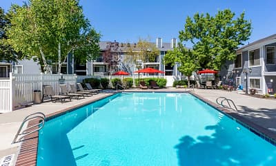 Pool, James Pointe Apartments, 0