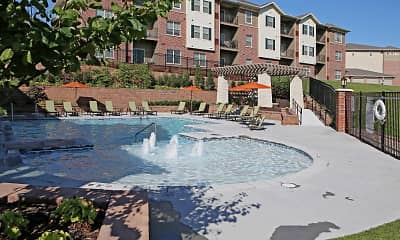 Pool, Tuscany Apartments, 2