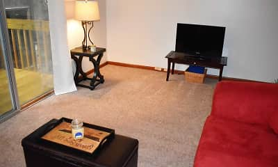 Living Room, Terra Trace Apartments, 2