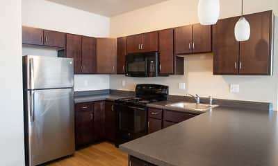 Kitchen, West Towne Flats, 0
