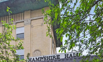 Community Signage, Hampshire Hall, 2