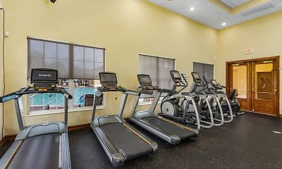 Fitness Weight Room, The Lakes At College Pointe, 2