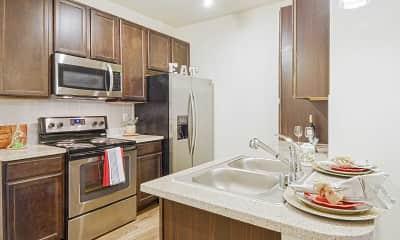 Kitchen, Sorrento Apartments, 0