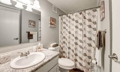Bathroom, Andover Courtyard Apartments, 2