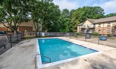 Pool, Northlake Apartments, 1