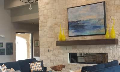 Living Room, Cascadia Apartments, 1