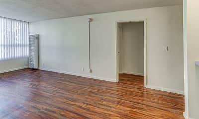 Living Room, 3655 Colegrove Apartments, 1