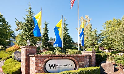 Community Signage, Wellington Apartments, 2