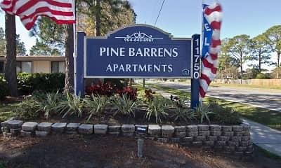 Community Signage, Pine Barrens, 0