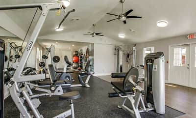 Fitness Weight Room, Residence on Lamar, 1
