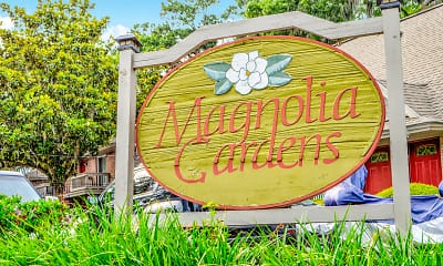 Community Signage, Magnolia Gardens, 0